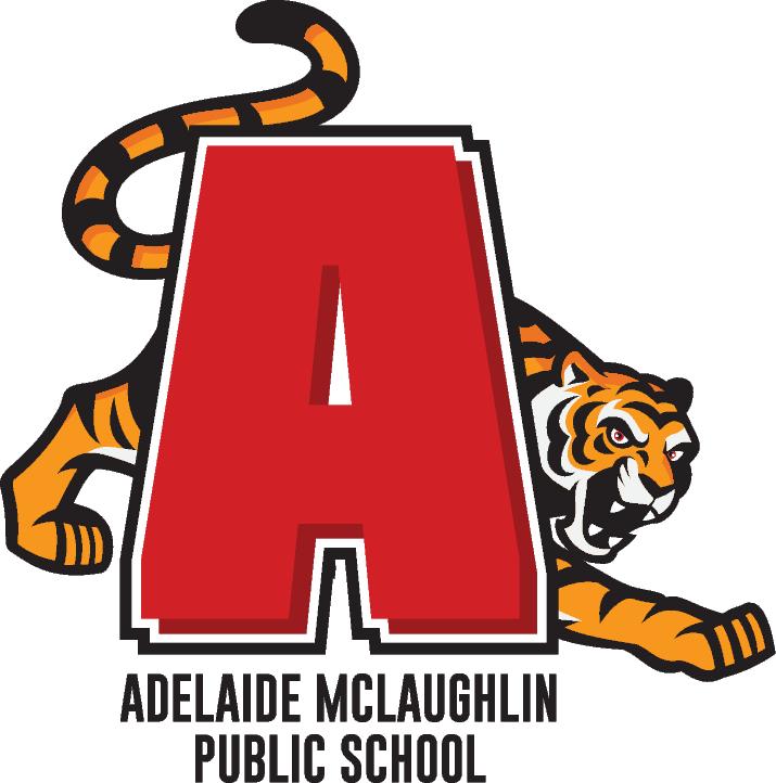 Adelaide Mclaughlin Public School logo